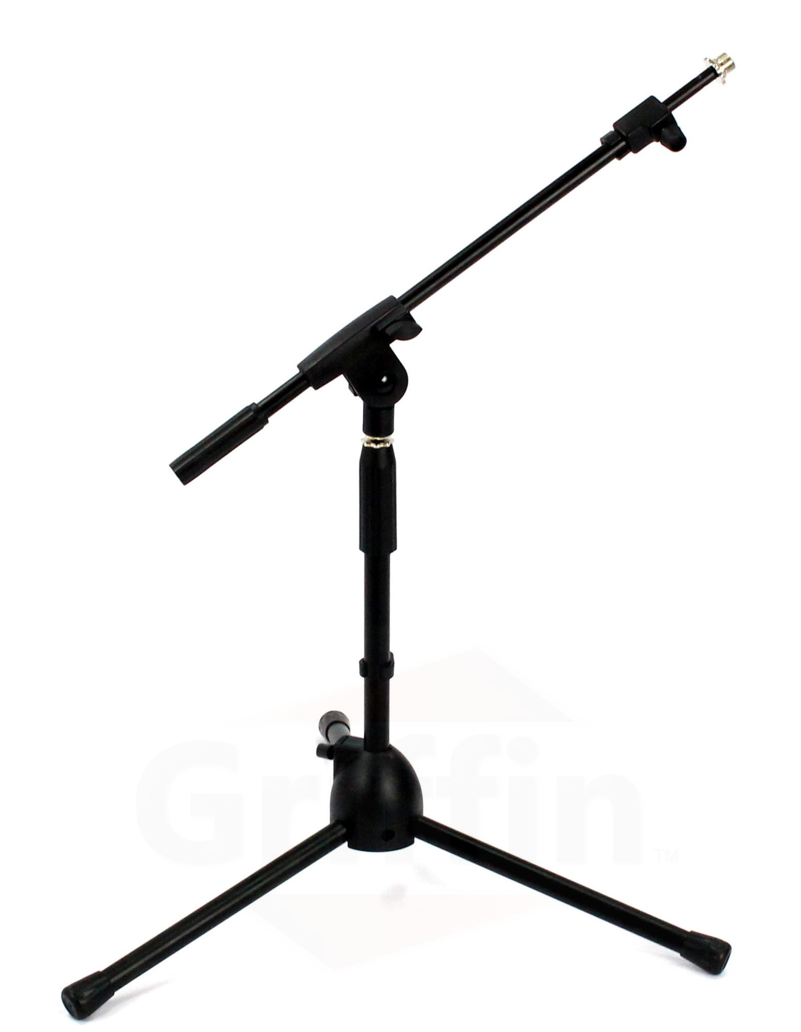 Short Microphone Stand With Boom Arm By Griffin Low