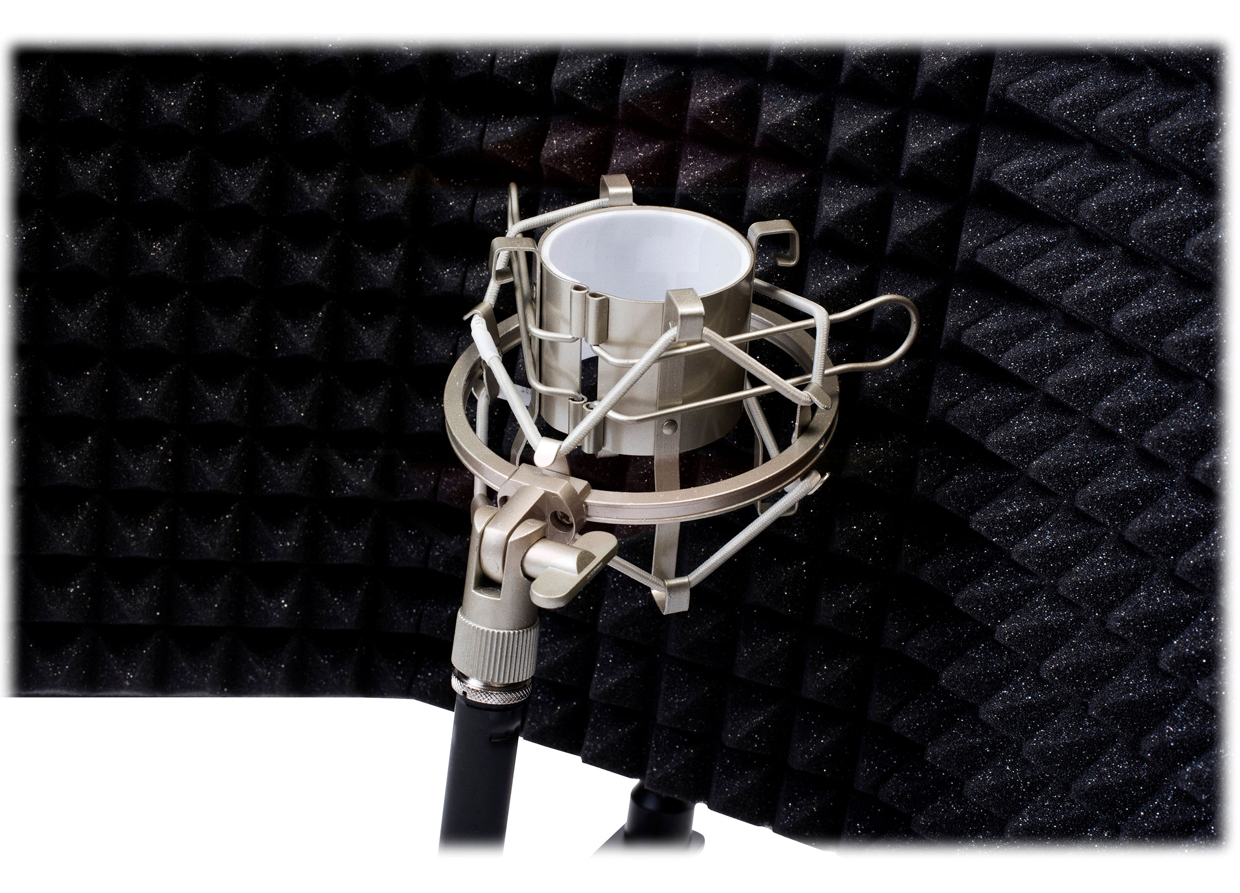 Studio Microphone Diffuser Isolation Sound Absorber Foam