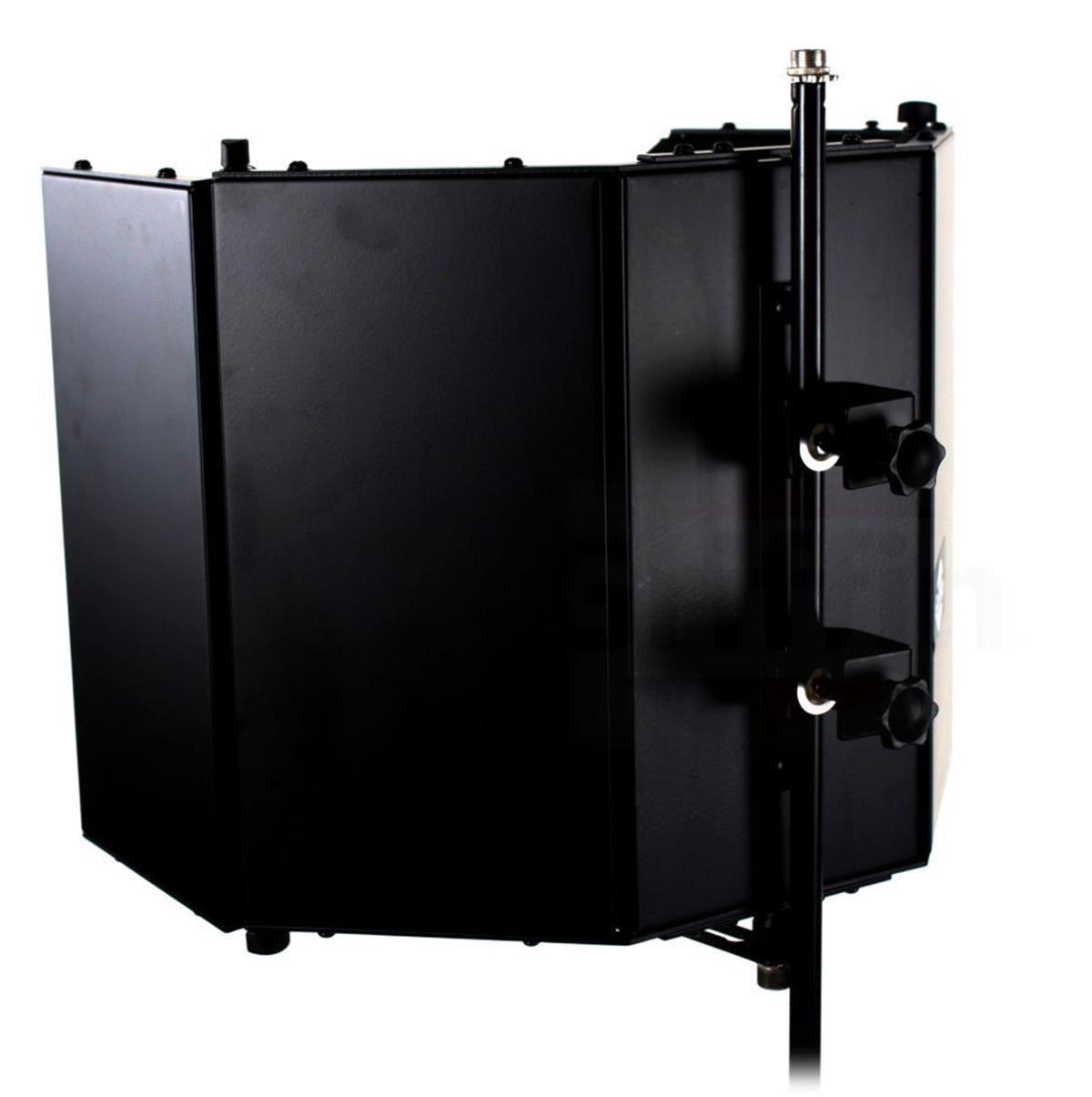 studio microphone diffuser isolation sound absorber foam panel shield stand mic 609132683916 ebay. Black Bedroom Furniture Sets. Home Design Ideas