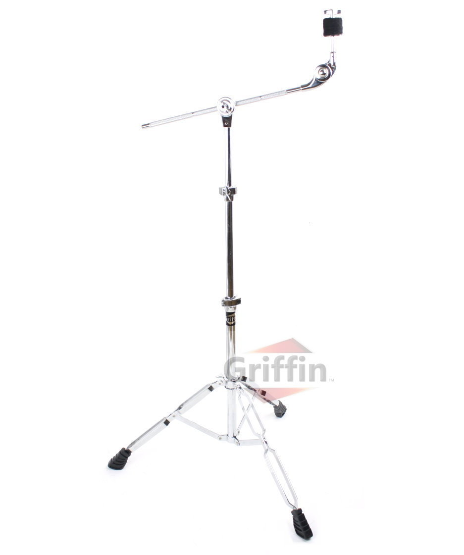 Boom Cymbal Stand Double-Braced Drum Hardware by Griffin