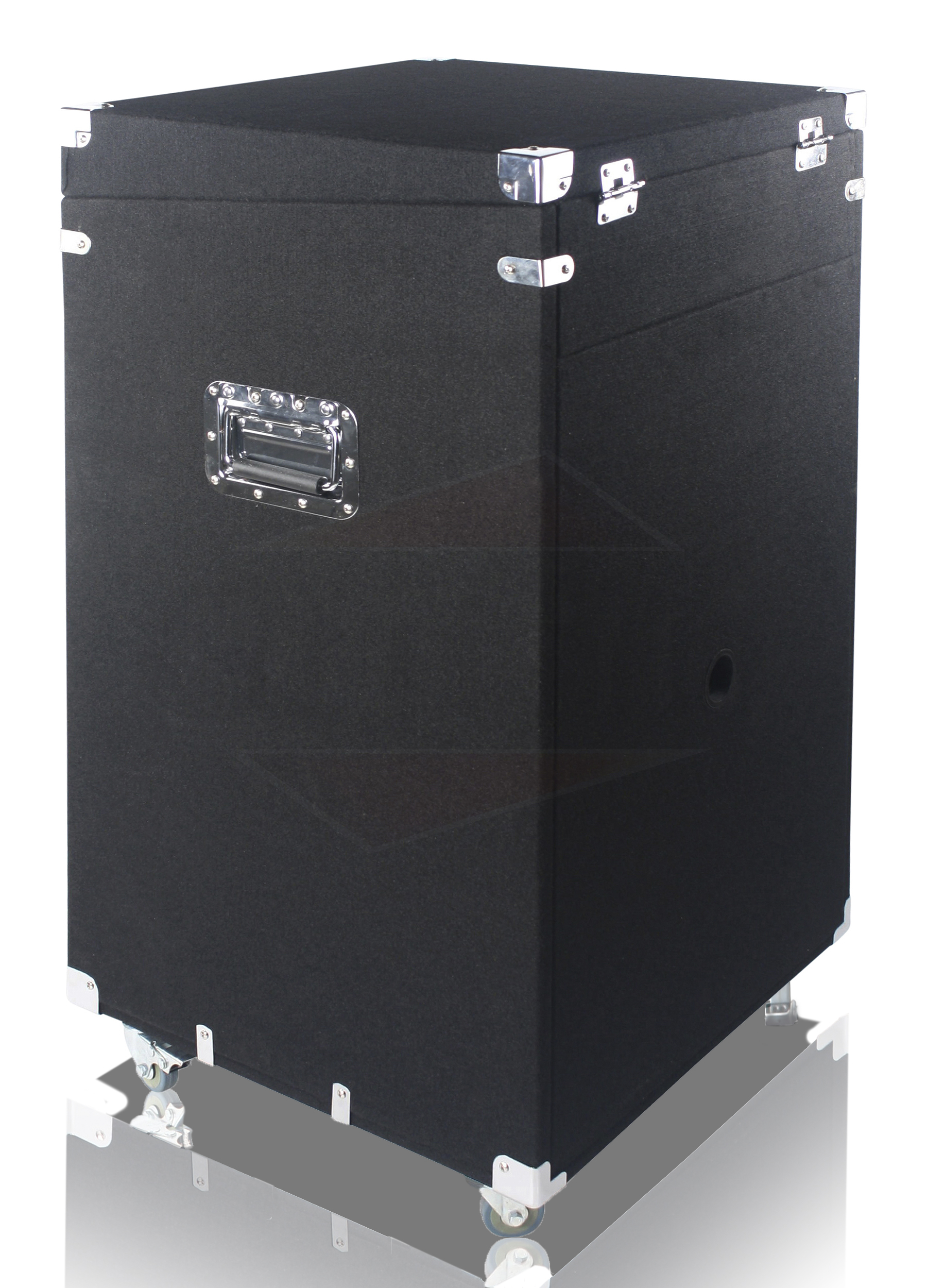 Rack Mount Cabinet Flight Case Studio Mixer Dj Pa Cart
