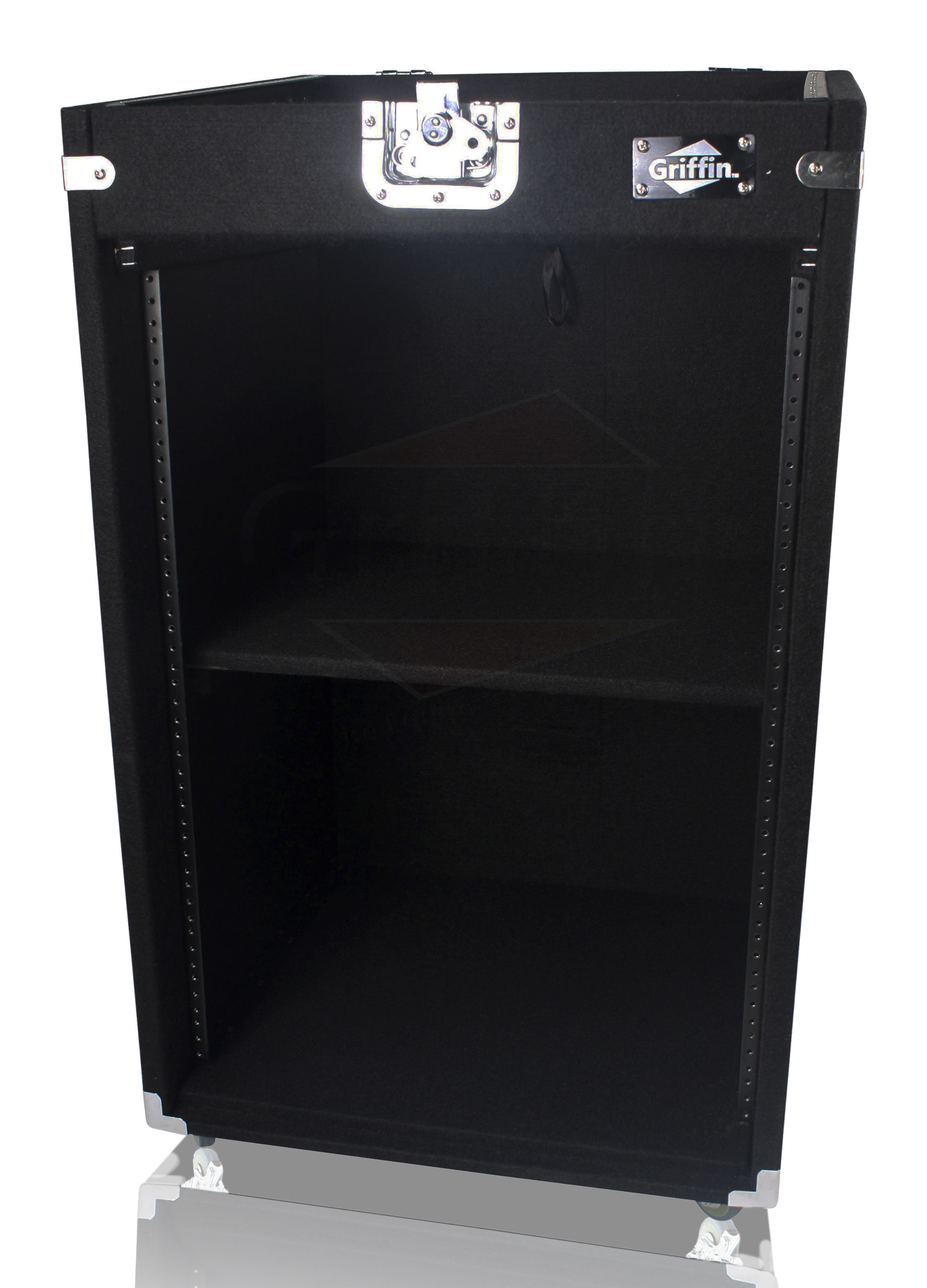 Rack Mount Cabinet Flight Case Studio Mixer Dj Pa Cart Stand Music Gear Stage Ebay