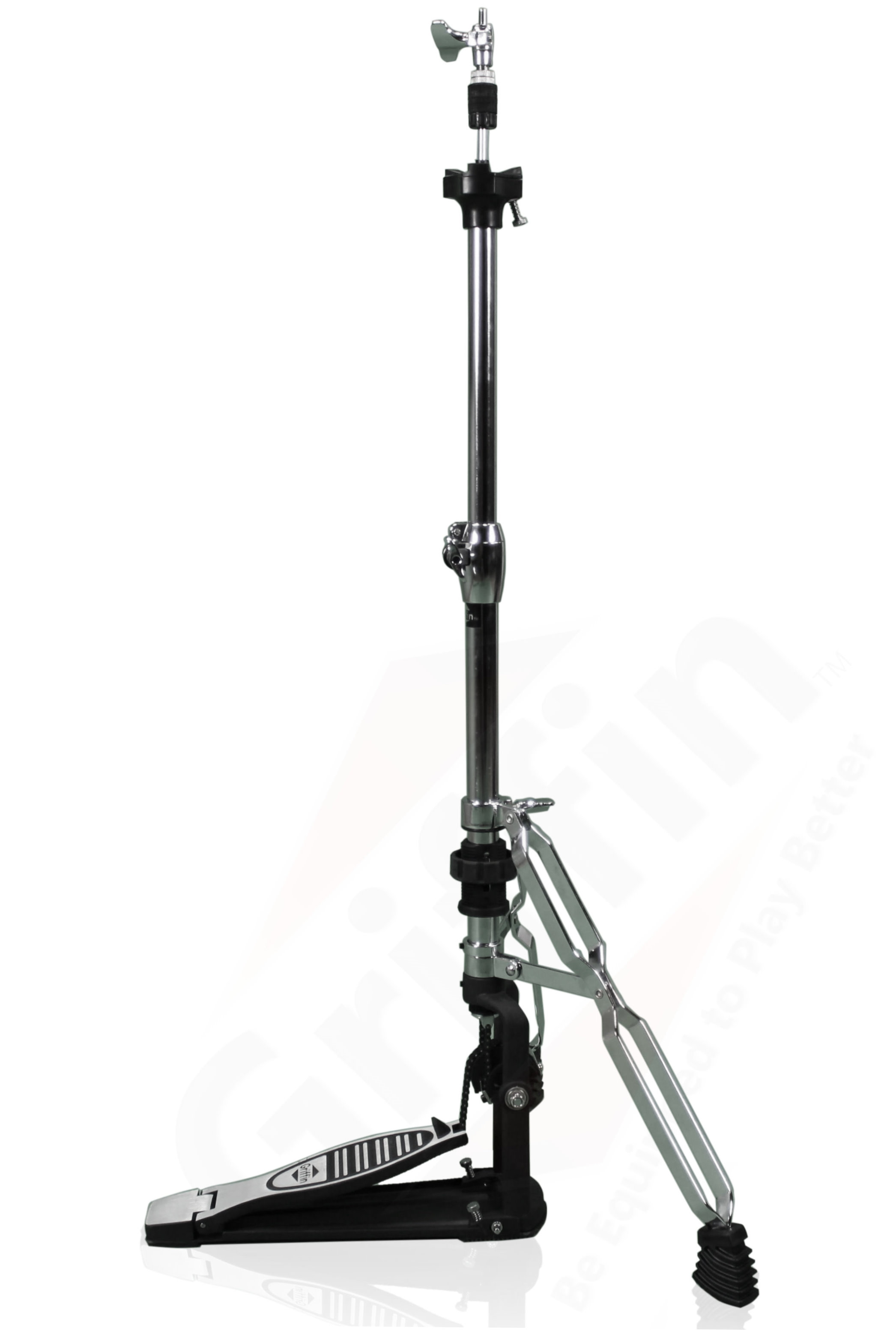 2 Leg Hi Hat Stand By Griffin Converts To No Leg Hihat