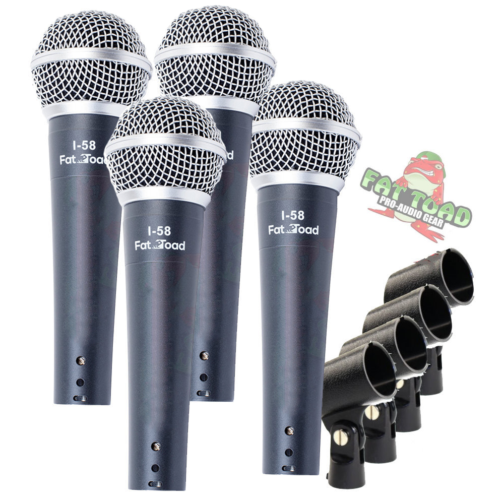 dynamic vocal microphones cardioid singing handheld recording stage mic pack ebay. Black Bedroom Furniture Sets. Home Design Ideas