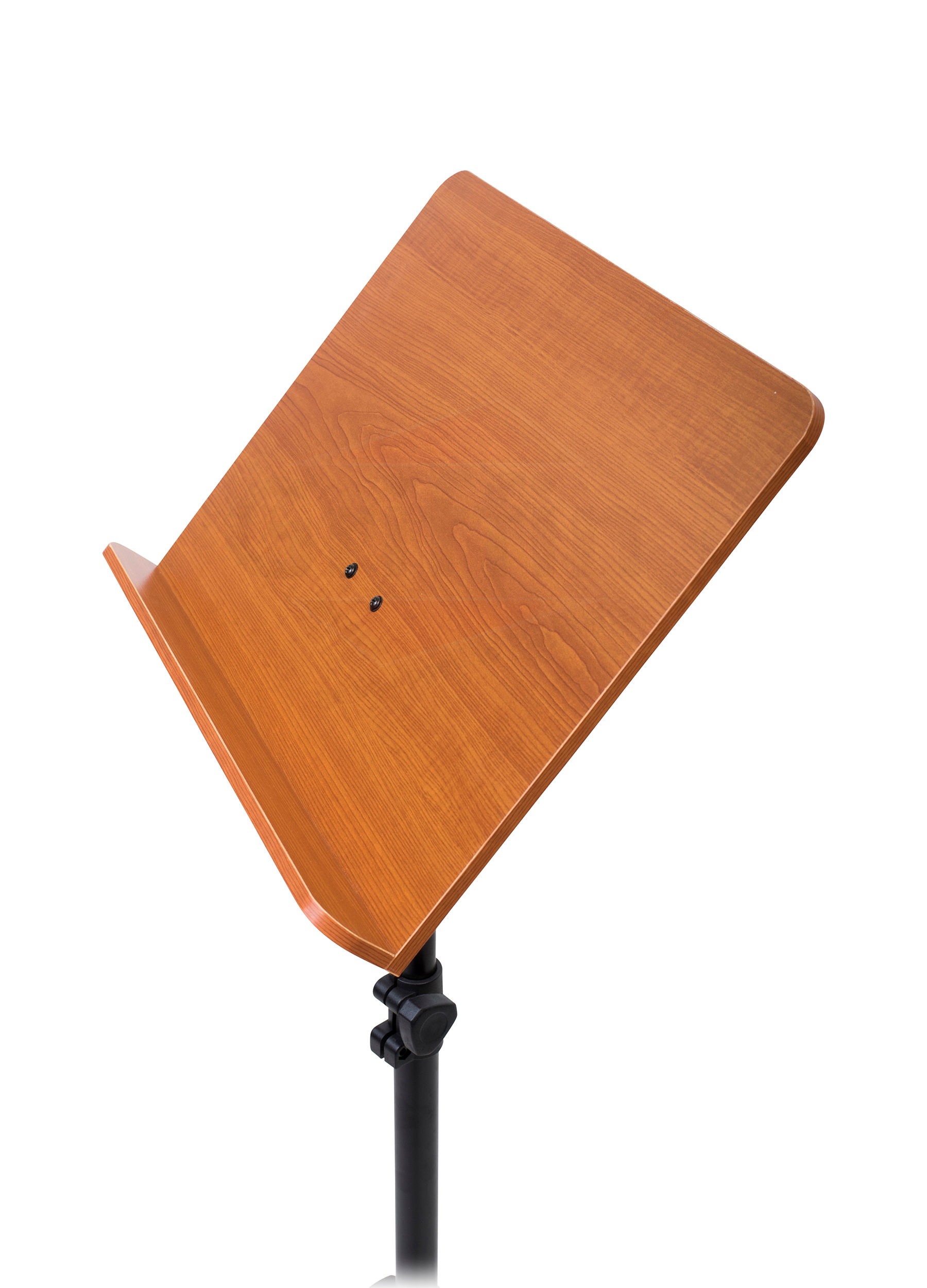 Sheet music stand 2 pack wood holder mount conductor for Stand pack