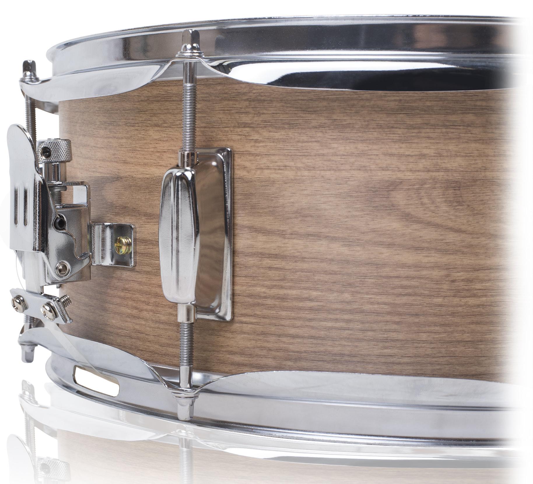 snare drum by griffin oak wood 14x5 5 poplar shell percussion kit set key 14 609132684074 ebay. Black Bedroom Furniture Sets. Home Design Ideas