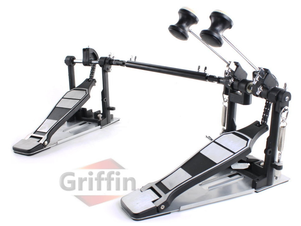 Double Bass Pedal Kick Drum Pedal by Griffin