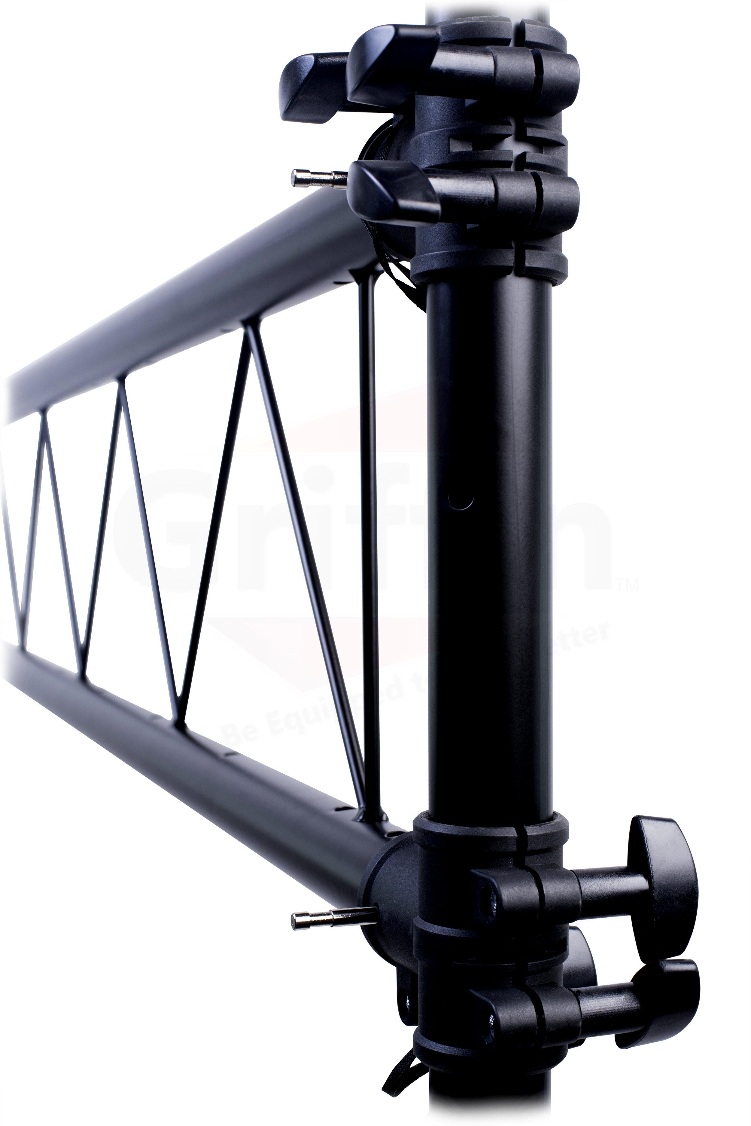 dj light truss stand system trussing i beam lighting stage pa speaker t bar ebay. Black Bedroom Furniture Sets. Home Design Ideas
